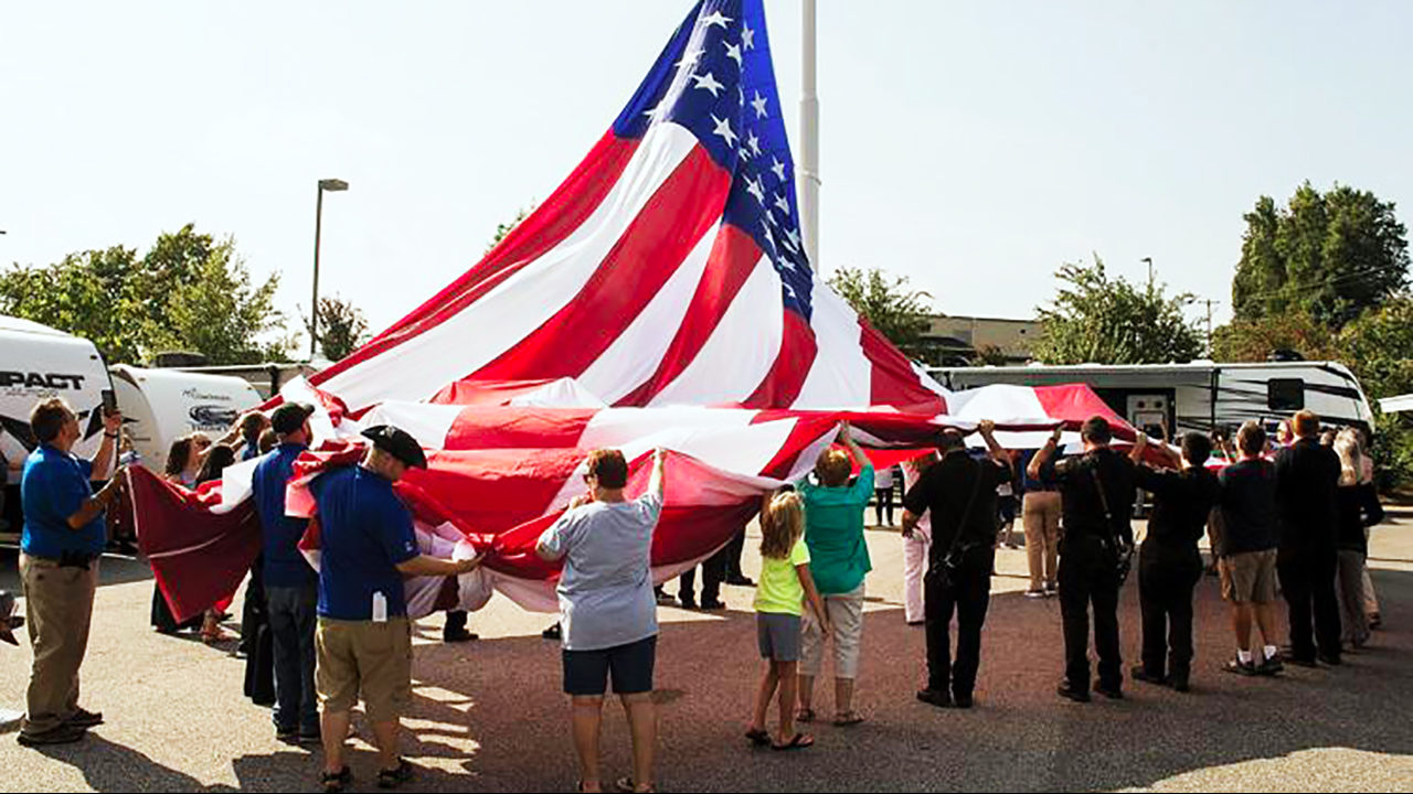 Camping World CEO blasts Statesville council, vows flag 'isn