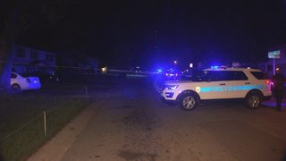 IMAGES: Charlotte-Mecklenburg police investigate shooting in northeast Charlotte