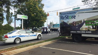 CMPD investigates shooting in parking lot of Habitat for Humanity Restore