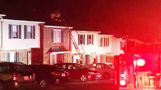 Investigators: Hickory 3-alarm townhome fire caused by lamp in bathroom