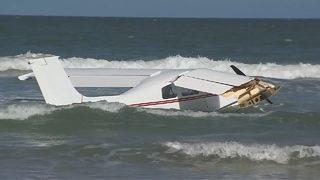 Local man rescued when plane crashes into ocean off Florida coast