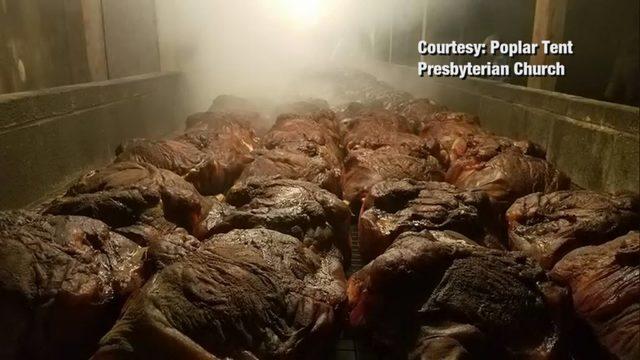 Cabarrus County Illness Brunswick Stew Sickens People At Church Bbq