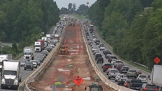 NCDOT: I-77 toll lanes will not be completed by January deadline