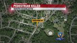 Person struck, killed by vehicle in south Charlotte