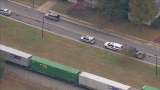 Emergency crews investigating after pedestrian hit, killed by train in Kannapolis
