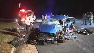 1 dead when car headed wrong way crashes on I-85 in Gaston County
