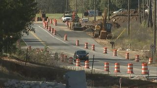 Major Rock Hill road project a year behind schedule