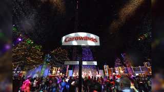 Carowinds transforms into winter wonderland