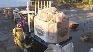 Volunteers in Indian Trail deliver 1,000 turkeys to families in need