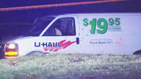 Nobody hurt after officer opens fire on U-Haul van in Mooresville