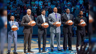 Photos: Charlotte Hornets honor fan-selected 30th anniversary team