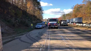 Truck hauling chicken waste spills on I-40 causing holiday traffic backups