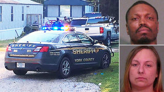 Man, woman out of Wisconsin arrested after 5-hour standoff in York Co.