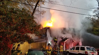 1 dead, 3 firefighters injured after massive house fire in Kannapolis