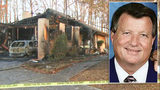 Pastor seriously hurt after home next to Mount Holly church catches fire