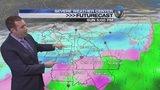 Meteorologist Keith Monday's Friday afternoon forecast update