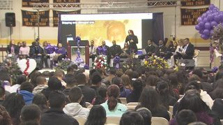 IMAGES: Funeral for Hania Aguilar