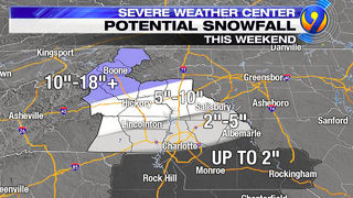 CHARLOTTE SNOW LIVE WEATHER UPDATES: TRACKING: Worst of