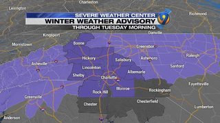 TRACKING: Icy roads present morning hazard before slight warm-up