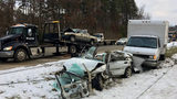 Troopers: Speed, ice on roadway caused serious 3-car crash on I-485 in NW Charlotte