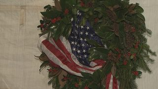 Cornelius woman decorates wreath for Tomb of Unknown Soldier at Arlington National Cemetery