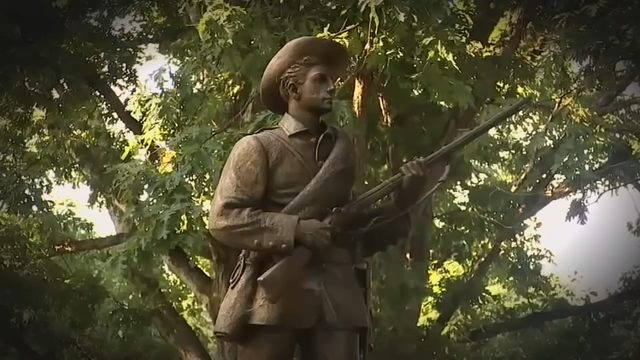 SILENT SAM PROTEST: Protesters, supporters voice opinions on