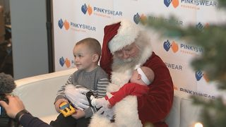Foundation gives area children with cancer special holiday surprise