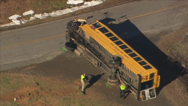 ALEXANDER SCHOOL BUS OVERTURNED: More charges filed against woman