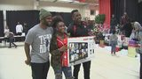 Panthers players give families holiday experience