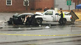 2 children critically injured, road closed after 3-car wreck in Gastonia
