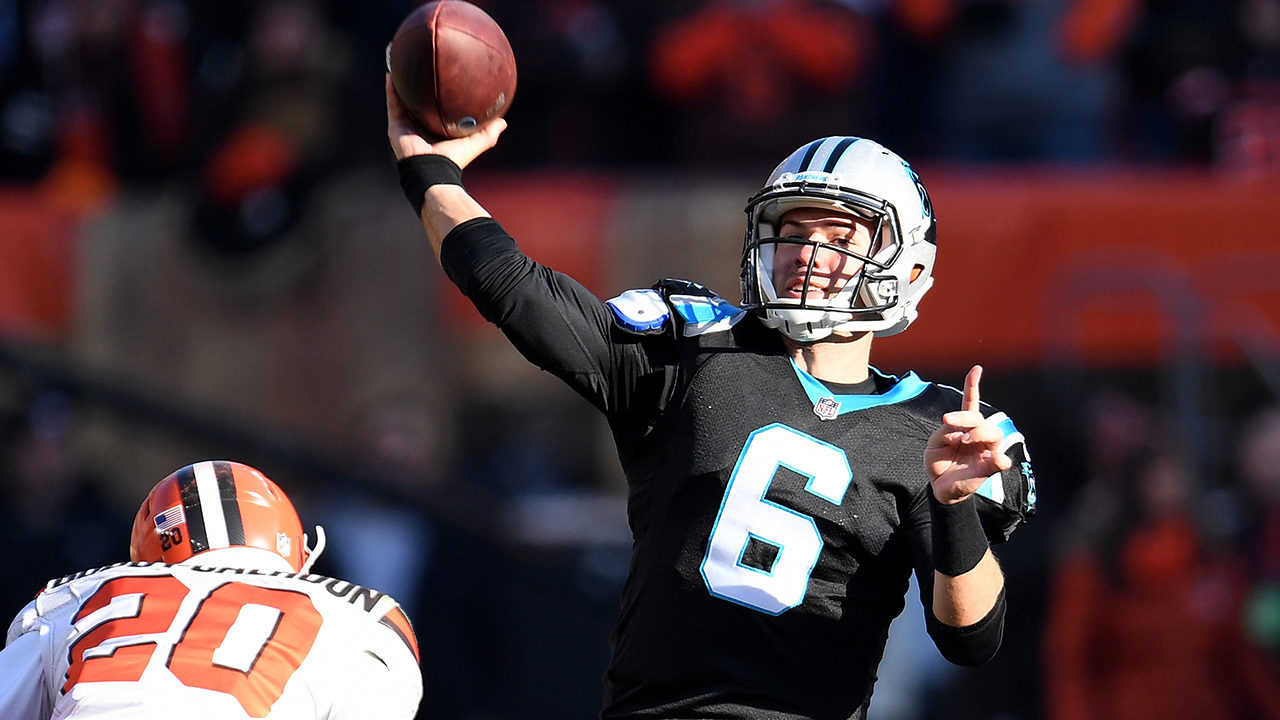 02c26e417 WEEK 16 PREVIEW  Panthers QB Heinicke out to prove he s no joke vs. Falcons