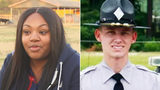 Heroic nurse saves trooper's life after over a dozen bullets fly through windshield