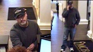 Photos: Federal agents seek 'Traveling Bandit