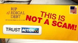 RIP MEDICAL DEBT: Channel 9, non-profit helps wipe away cancer survivor