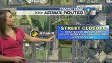 ALTERNATE ROUTES: Roads shut down in uptown Charlotte due to LYNX utility work