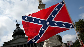 Confederate flag from S. Carolina Statehouse put on display