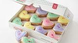 Krispy Kreme's Valentine conversation doughnuts