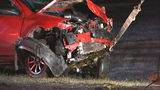 Teen killed when driver swerves to avoid vehicle, plunges off bridge into creek