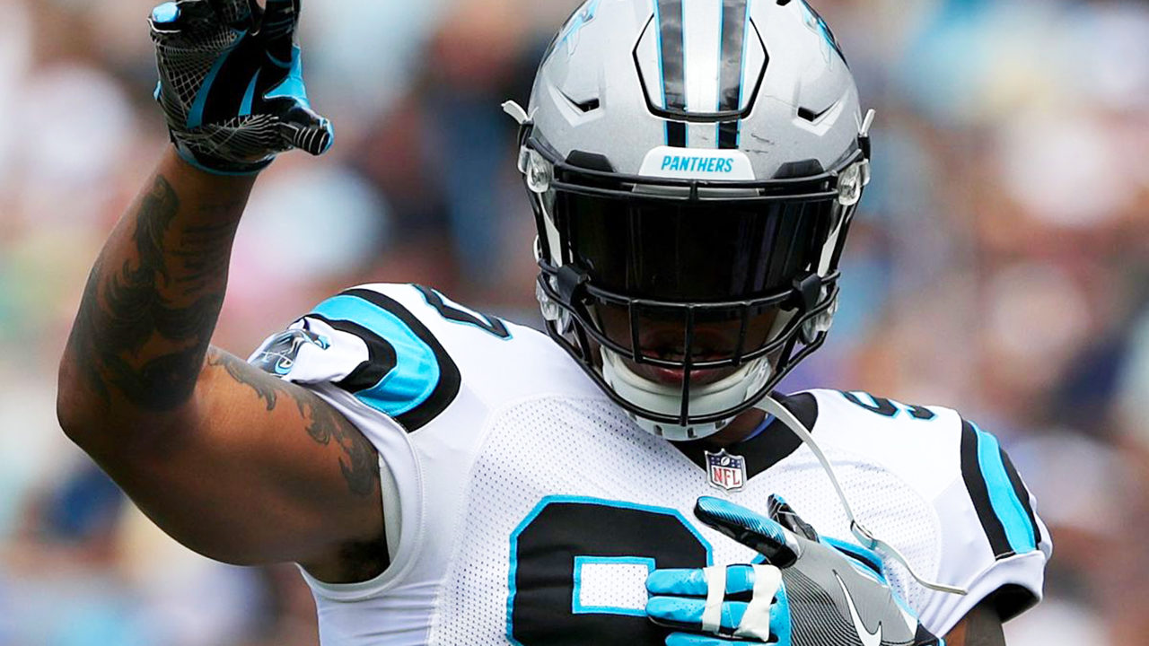 a87f8fec2 'Once a Panther, always a Panther': Julius Peppers announces retirement |  WSOC-TV