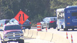 Traffic headaches: Construction, delays to continue along I-277 for weeks