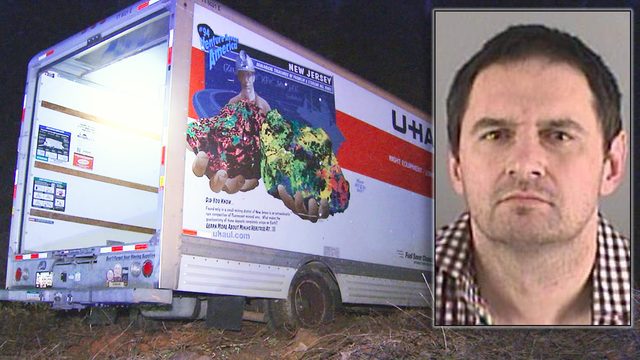 GASTON COUNTY U-HAUL CHASE: Man arrested after crashing stolen U