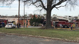 60+ firefighters put out fire at abandoned building in Pineville