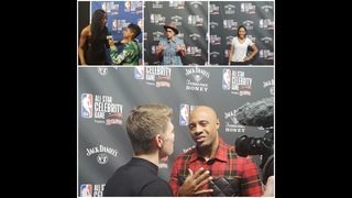 WSOC-TV Photos: NBA All-Star Celebrity Game at Bojangles
