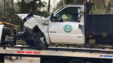 Woman killed after SUV, Burke Public Schools truck collide in Morganton