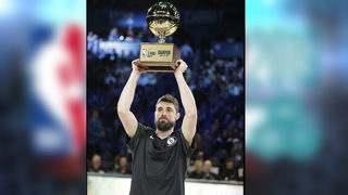 NBA ALL-STAR CONTESTS: Joe Harris tops Stephen Curry for 3-point title