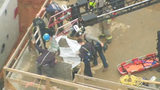 Firefighters rescue worker trapped at bottom of 40-foot hole in Ballantyne