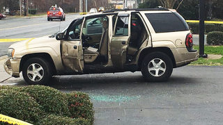 CMPD: Man following woman, kids slammed into vehicle, opened fire near police station