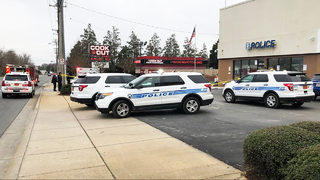 CMPD: Man following woman, kids slammed into vehicle, opened fire near police station
