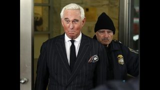 Roger Stone ordered to explain posted photo of federal judge