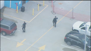 CHOPPER 9: CMPD detains suspects accused of stealing car, running from police